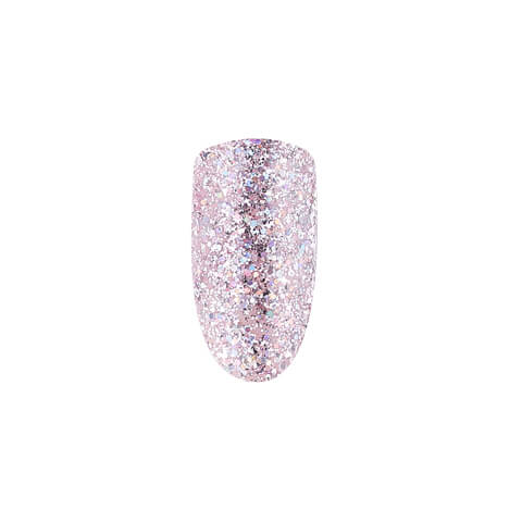 DUSTY PINK HOLOGRAPHIC SHIMMER, 10 ML